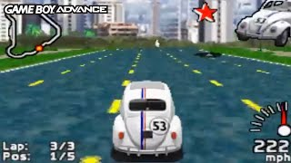 Herbie Fully Loaded (Game Boy Advance Gameplay)