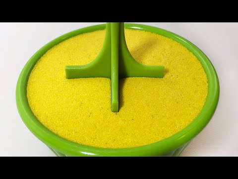 Very Satisfying and Relaxing Compilation 165 Kinetic Sand ASMR