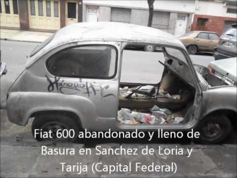 Autos Abandonados en Argentina(Capital Federal) (Parte 3