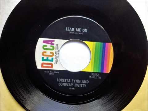 Lead Me On , Loretta Lynn & Conway Twitty , 1971 45RPM