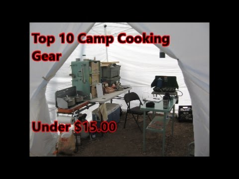 TOP 10 OUTDOOR CAMP COOKING GIFTS UNDER $15