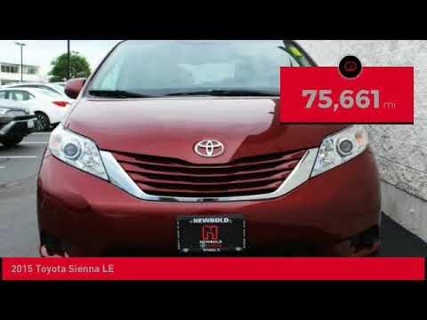 2015 Toyota Sienna Ou0027Fallon IL T18825
