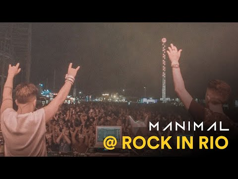 MANIMAL Live at  Rock in Rio 2017 [U Talki'n to Me]