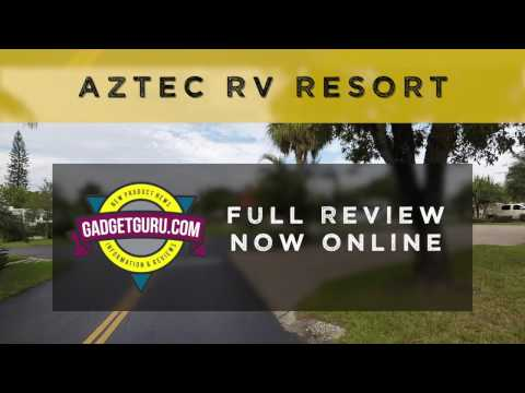 A Tour And Overview Of Aztec RV Resort Near Ft. Lauderdale, Fl