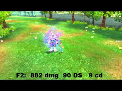 Digimon Masters Online - Elecmon - All evolutions and attacks