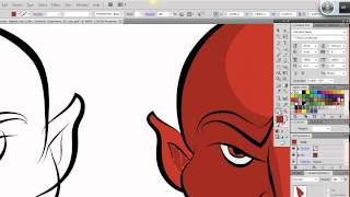 Repeat youtube video Ultimate Inking and Coloring Tutorial for Adobe Illustrator CS5 (short version)