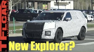 Is this the new 2019 Ford Explorer Prototype Spied In the Wild?