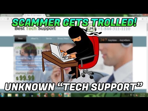 TECH SUPPORT SCAMMER GETS TROLLED - Scammer Stream Highlight