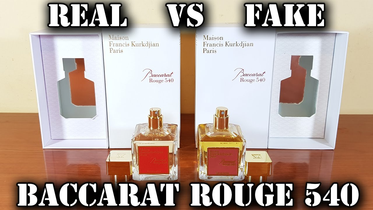Fake fragrance   Baccarat Rouge 20 EdP by Maison Francis Kurkdjian