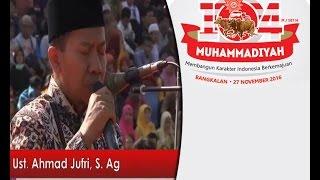 Tilawatil Qur'an Ust. Jufri - Milad Muhammadiyah 104M / 107 H  di Bangkalan