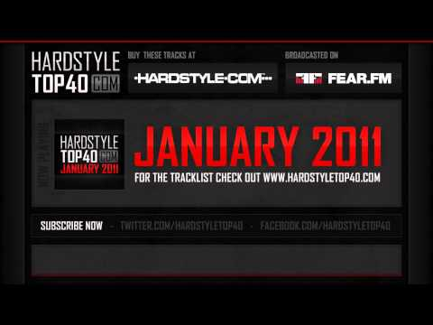 Hardstyle Top40 - January 2011 (HD)