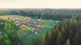 Утро в посёлке Центральное Раздолье Июль 2020