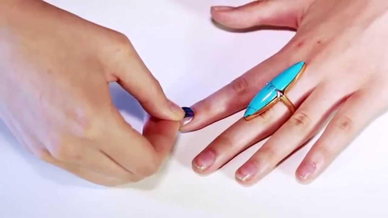 How to Apply NCLA Nail Wraps - YouTube