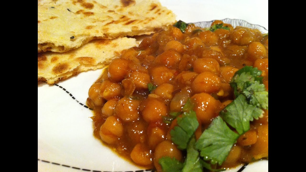 Chana masala (chickpea curry) - YouTube