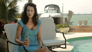 Cast Aluminum Swivel Patio Barstools by COMFORT CARE!