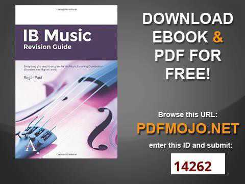 IB Music Revision Guide Everything you need to prepare for the Music Listening Examination Standard