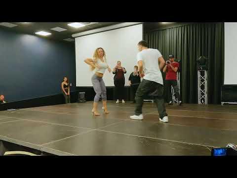 Gregory y Jessica  dance Bachata @Bachata Masters Milano 2017