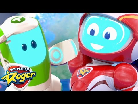 Space Ranger Roger | Full Episodes Mega Mix | Cartoons For Kids | Funny Cartoons For Children