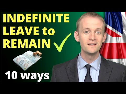 10 ways to get indefinite leave to remain ✅️(FAST & SLOW)❗️*in 2020*