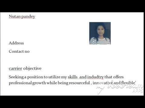 resume for teaching/ resume for fresher/ how to write resume/ resume format / resume writing / how t
