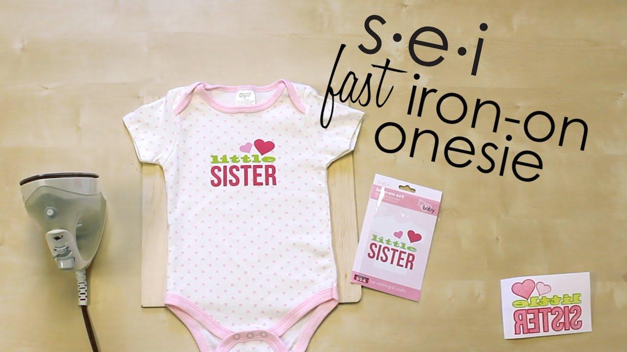 Diy Quick Onesie Decoration Baby Shower Sei Crafts