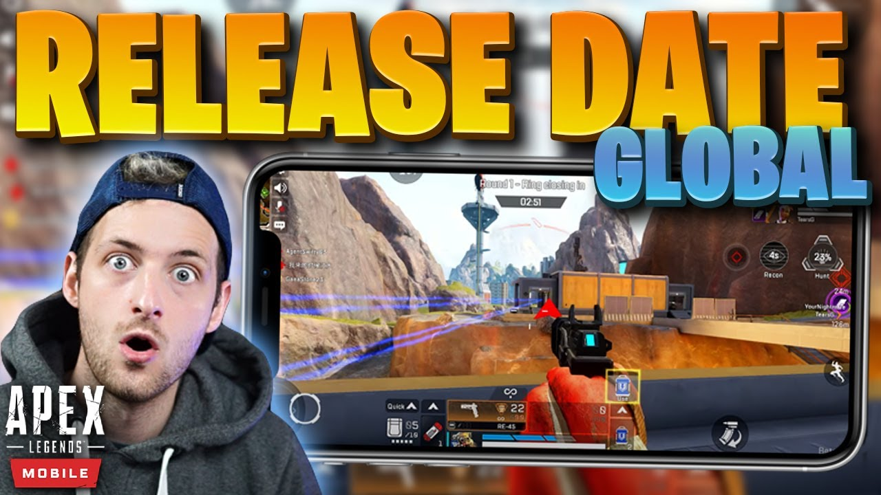 Download Global Release Date! - Apex Legends Mobile (iOS + Android)
