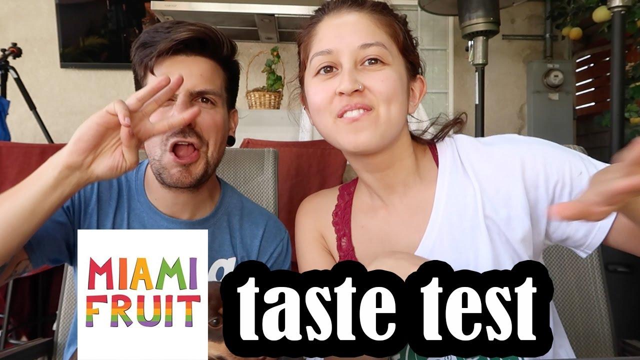 Exotic Fruit Taste Test