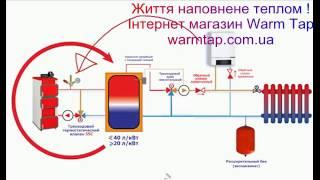 Обвязка твердотопливного котла с теплоаккумулятором(З повагою, Дирекція компанії «тепло Кран» Життя Наповнене Теплом! http://warmtap.com.ua/, 2016-02-23T21:26:56.000Z)