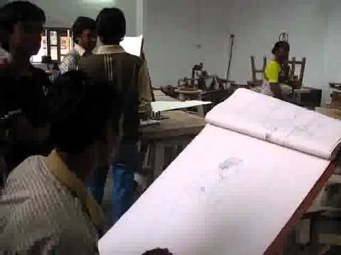 Sculpture Dept in college of arts, chennai