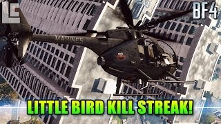 AH-6J Little Bird Killstreak: Scout Helicopter (Battlefield 4 Beta Gameplay)