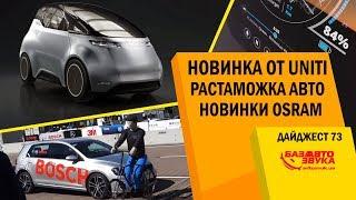 Растаможка авто. Безопасность от BOSCH. Osram TUNING LIGHTS. Продукция EcoKraft. Дайджест #73(, 2017-12-24T11:00:04.000Z)