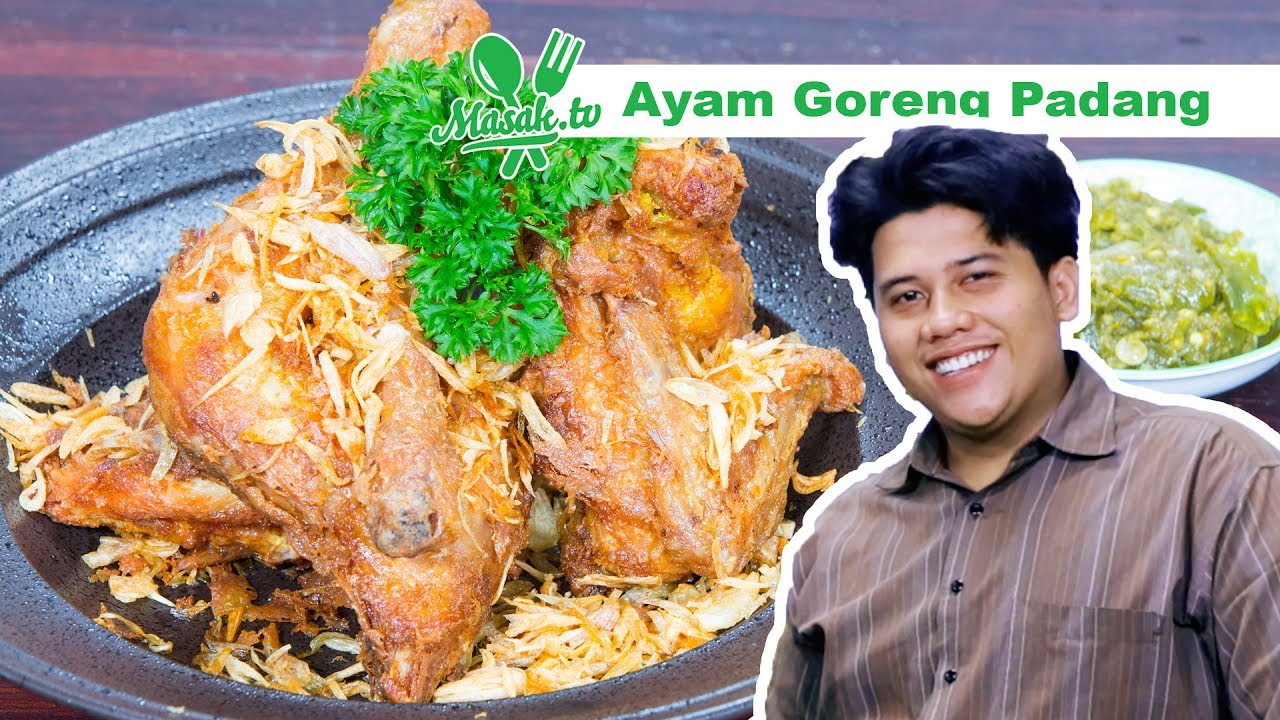 Image result for aYAM GOREng PADANG PADANG MASAK TV