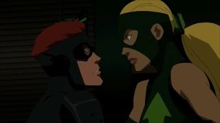 Young Justice Season 1 |Kid Flash & Artemis |All Moment