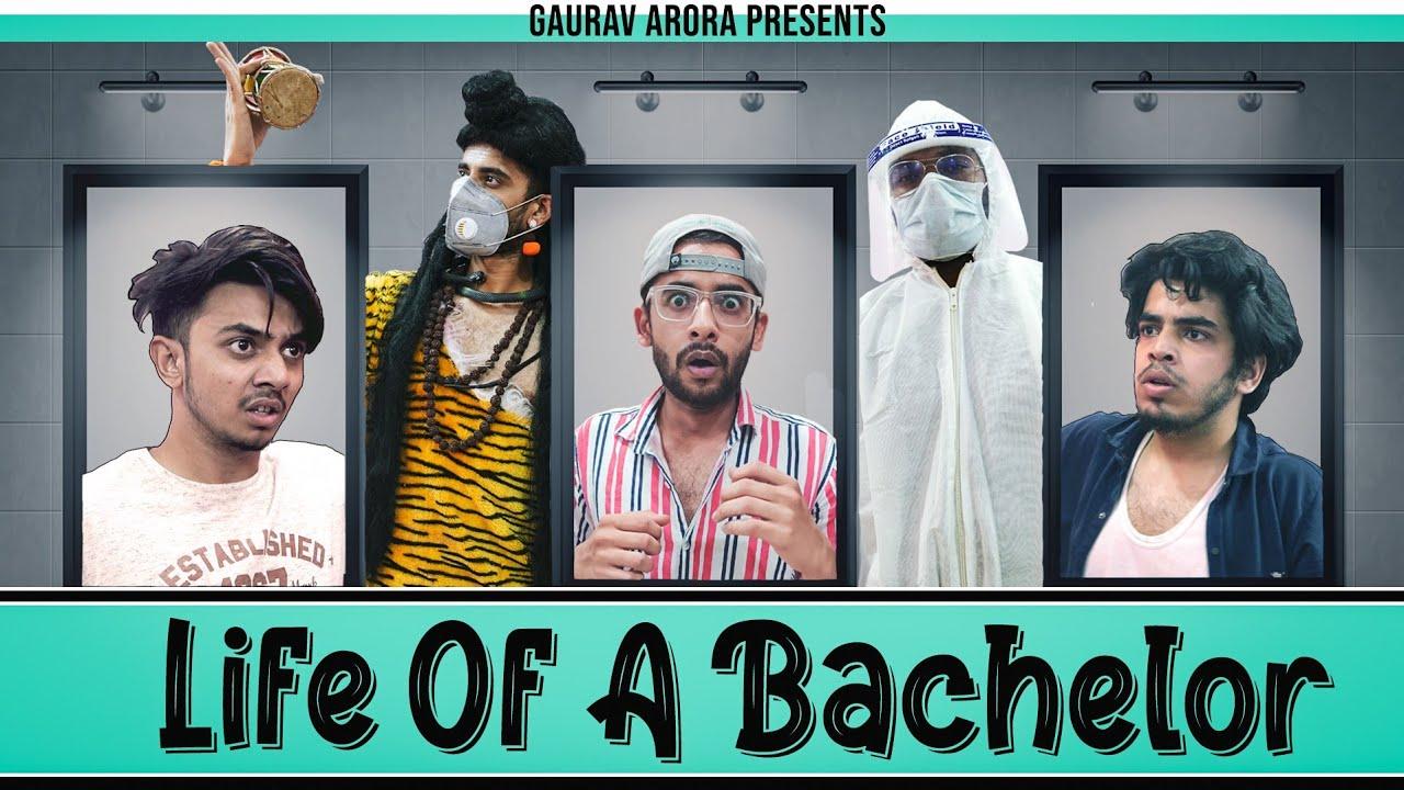 Life of a Bachelor | Hostel PG Special | Gaurav Arora