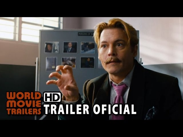 Mortdecai - A Arte da Trapaça Trailer Oficial Legendado (2015) - Johnny Depp HD