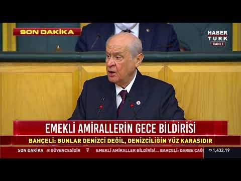 Devlet Bahçeli, MHP Grup Toplantısı'nda konuşuyor #CANLI