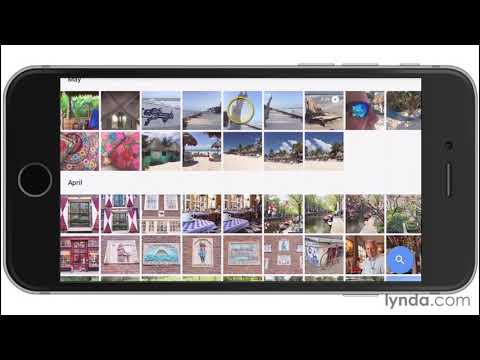 Using Google Photos to save space on your phone | Photo Tools Weekly | lynda.com