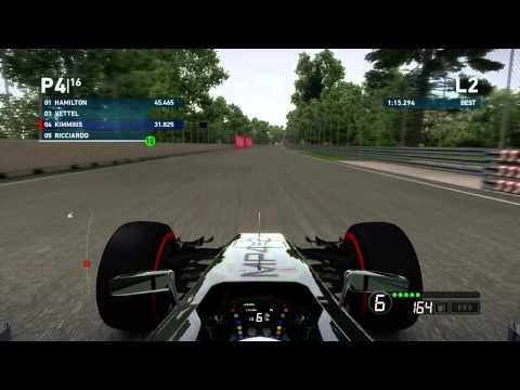 F1 2014 Career Qualifying Hot Lap Mclaren Mercedes Montreal