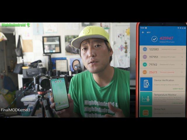 Xiaomi Mi 9 420K+ Antutu Setup! [830Mhz GPU OC + F2FS + ZRAM