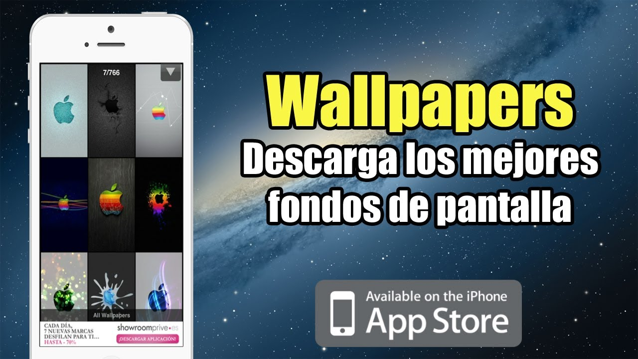 Wallpapers HD [App Store] | Descarga los mejores Wallpapers para tu iPhone y iPod Touch - YouTube