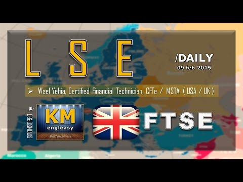 STOCK Market | LSE | FTSE | Daily ( 09 feb 2015 )