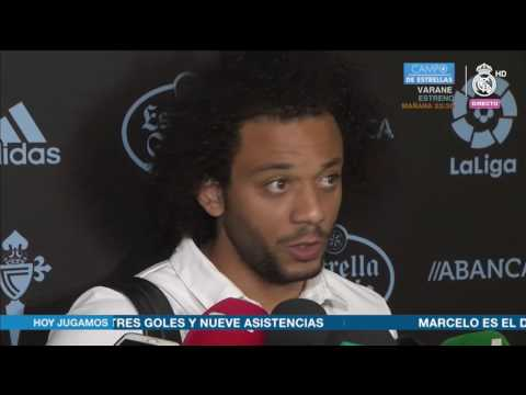 Declaraciones Marcelo post Celta 1-4 Real Madrid | LIGA JORNADA 21
