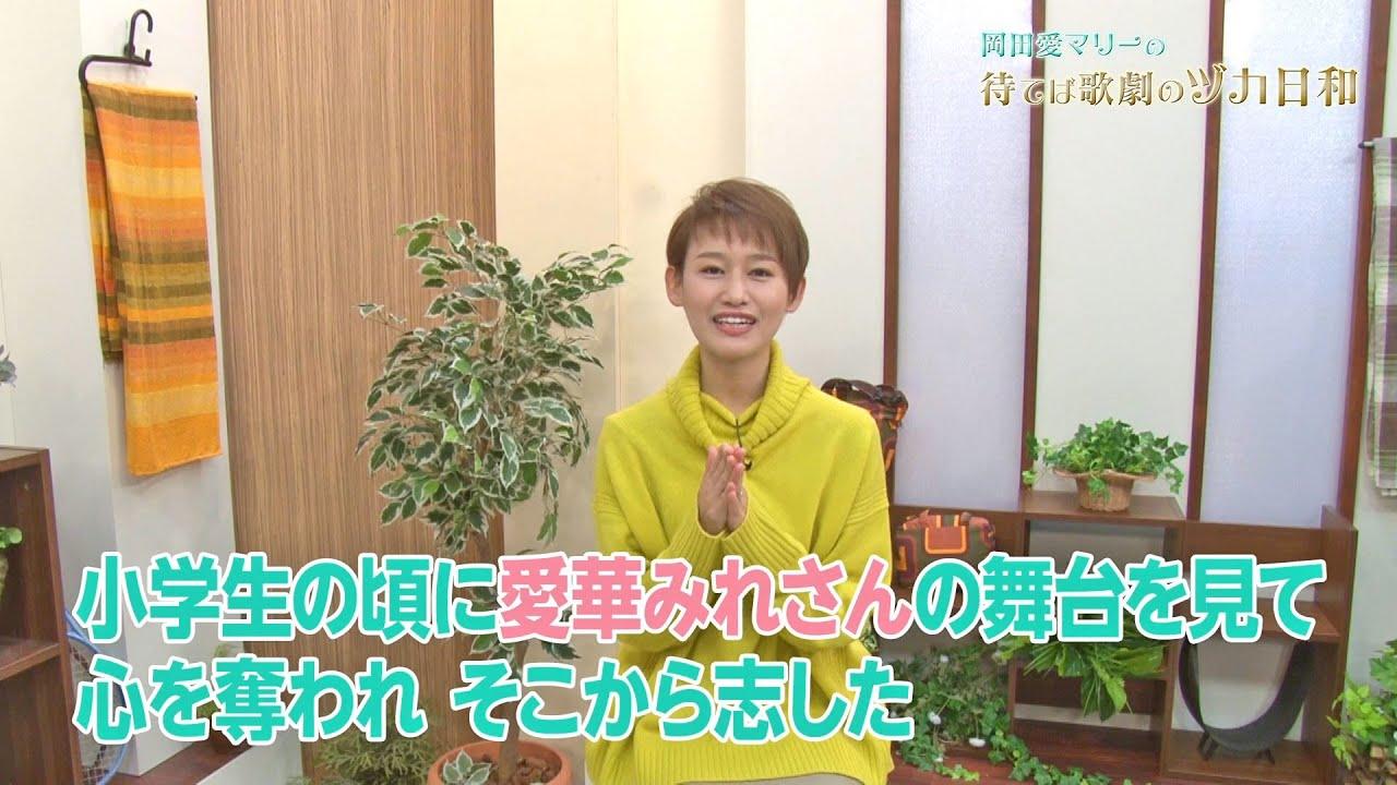 岡田愛マリーの待てば歌劇のヅカ日和「宝塚音楽学校 めぐまりの受験時はどうたったのか編」