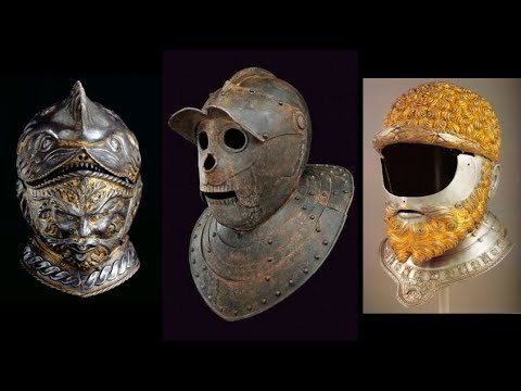 27 Amazing Helmets And 16th Century Knight Armour