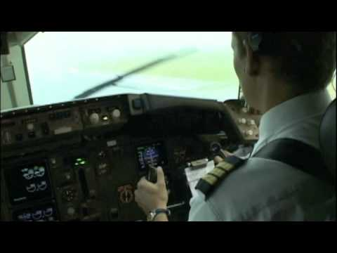 Stormy Departure out of Havana (Boeing 767)