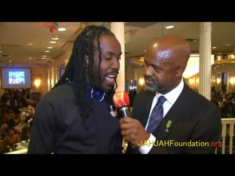 Irwine Clare Interviews Nesbeth @ JAHJAH Foundation's 5th Anniversary Gala