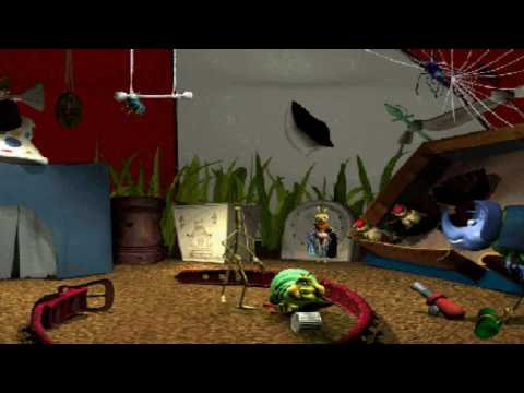 A Bug's Life Active Play Part 5 - PT Flea's Circus (All Interactions)