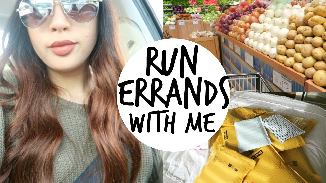 Run Errands With Me