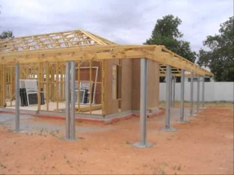 แบบโครงสร้างบ้านไม้ชั้นเดียวTel 0958289099