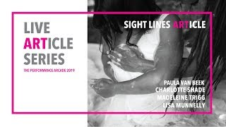Live ARTicle 1 - Sight Lines